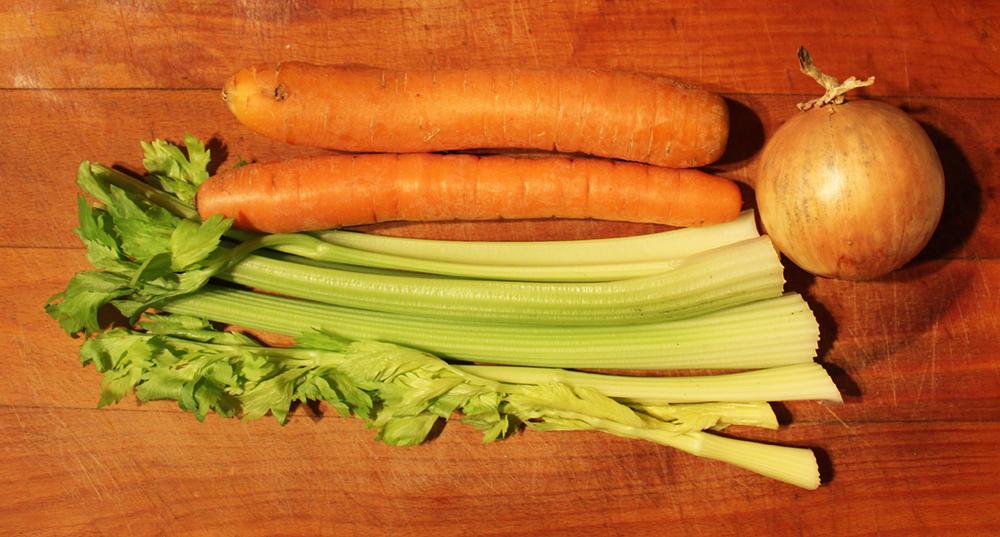 vývar zelenina