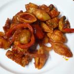 Kuřecí s uzenou paprikou a mušlemi