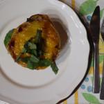 Papriky plněné rizotem a mletým masem