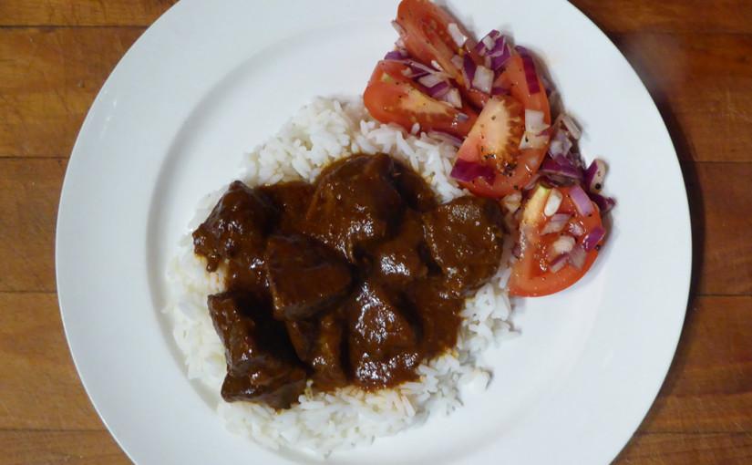 Hovězí maso poindicku | Vzpomínka na Madrás, Chennai, Čennaj