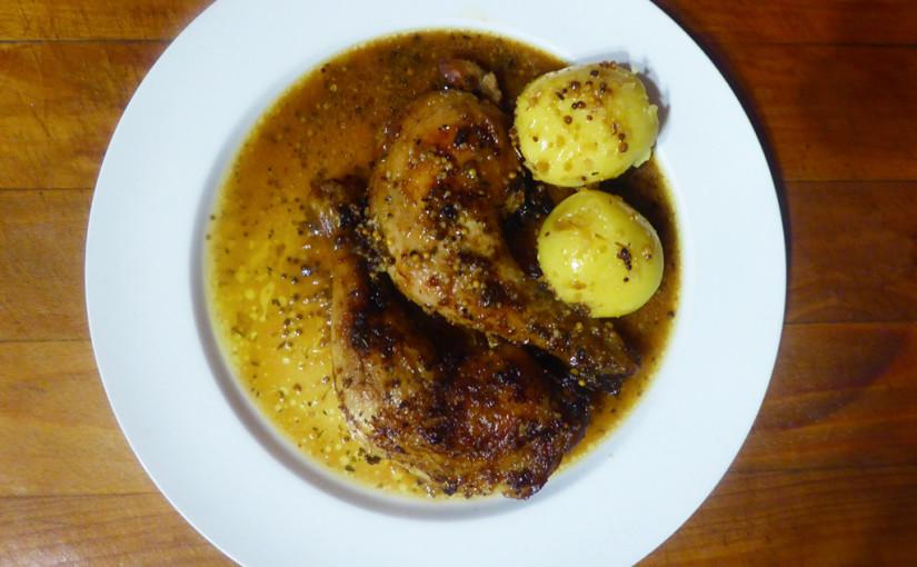 Kuře scitronovou vůní