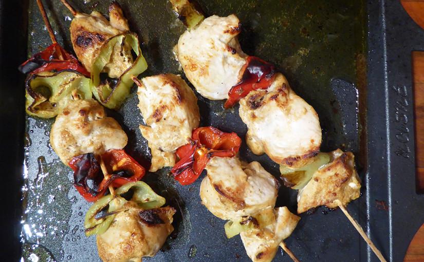 Kuřecí špízy pikantní chuti | Ostřejší záležitost