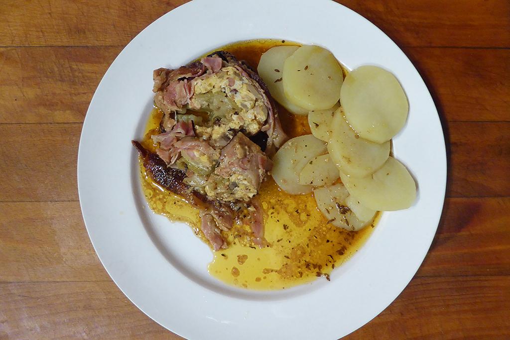 Roláda a brambory