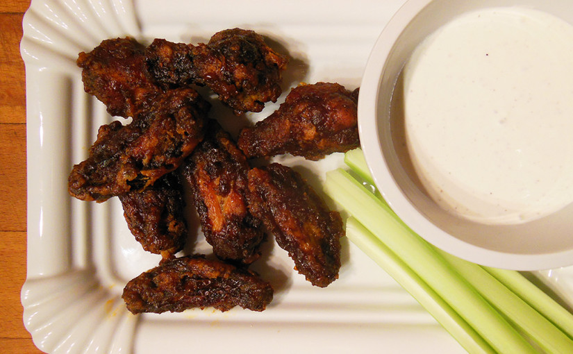 Chicken wings as Buffalo Wings | Americká inspirace