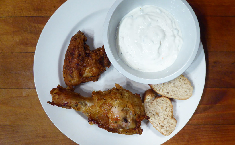 White quick dip | The chicken and otherwise