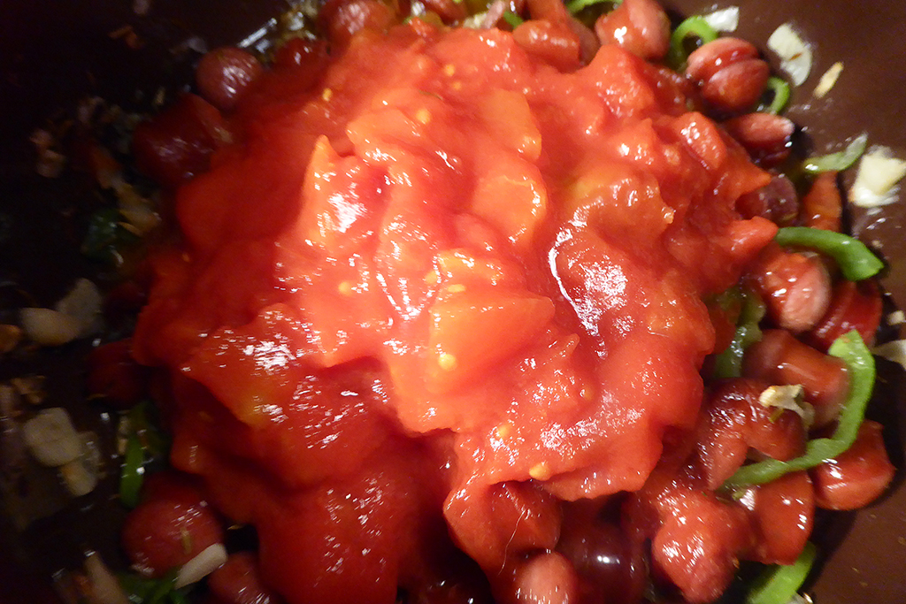 Přidej rajčata