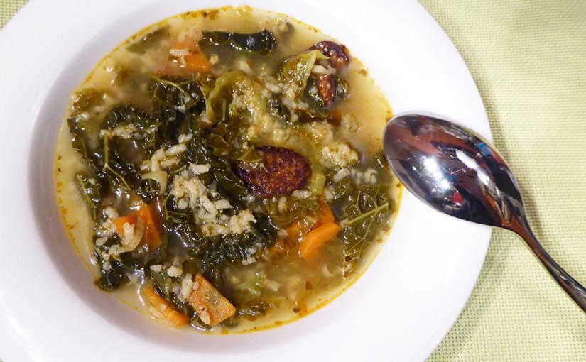 Kapustová polévka | Portugalská inspirace včeské variaci