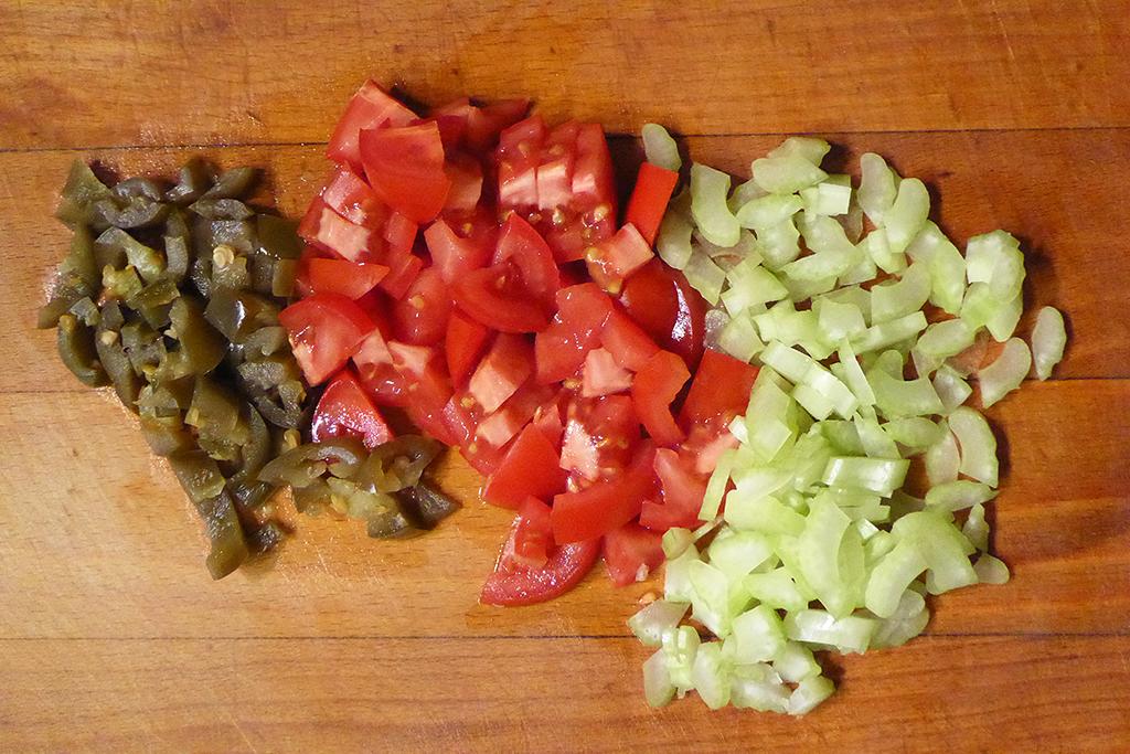 Zelenina do salátu