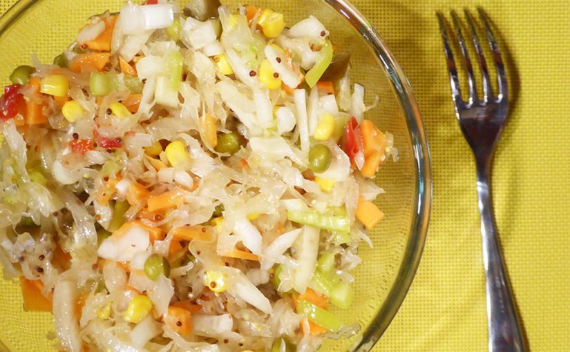 coleslaw | understand: salát z kysaného zelí pro trpělivé