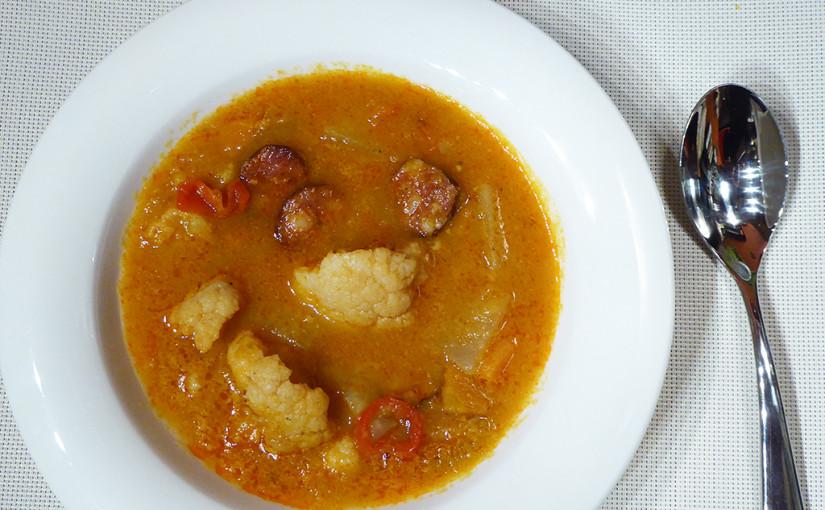 Divoká kedlubnová polévka | Kdopak by se ohně bál