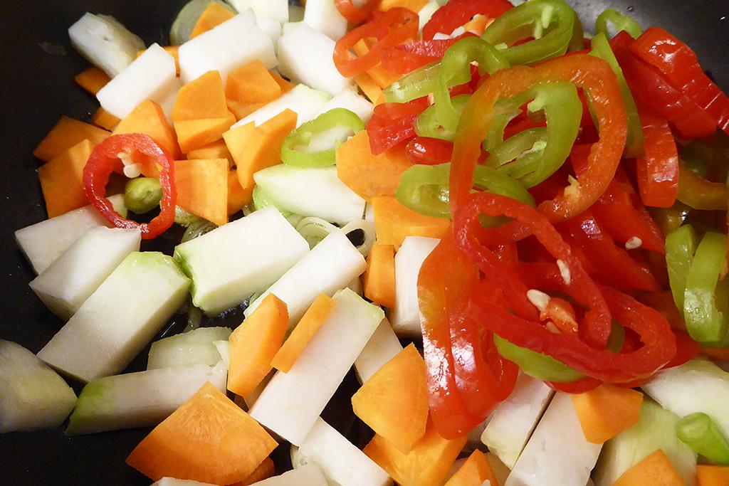 Orestujeme zeleninu