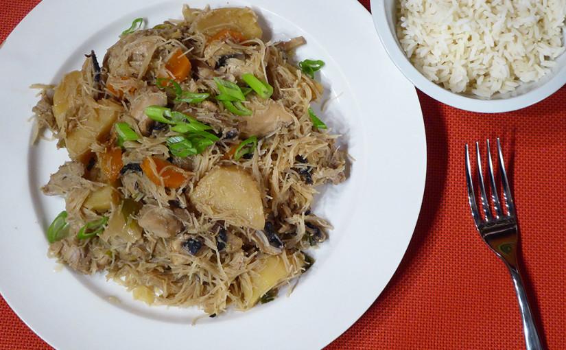 Dušené kuře se zeleninou | Korejská inspirace