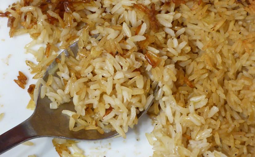 Rýžový pilaf | Hlavní jídlo v roli přílohy