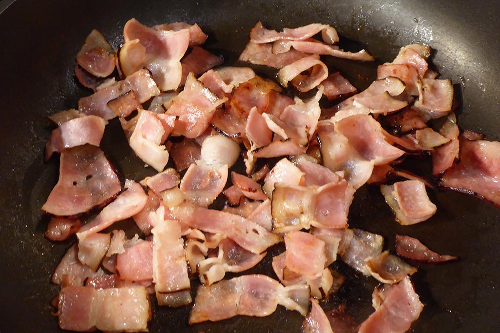 Anglickou slaninu opečeme