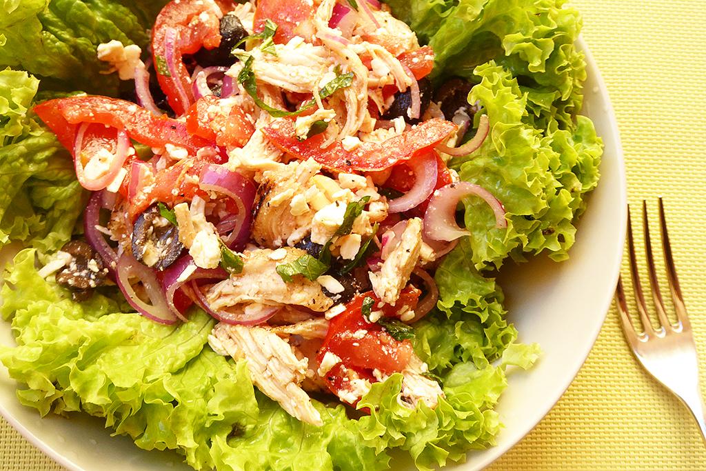 Kuřecí salát jako z Řecka