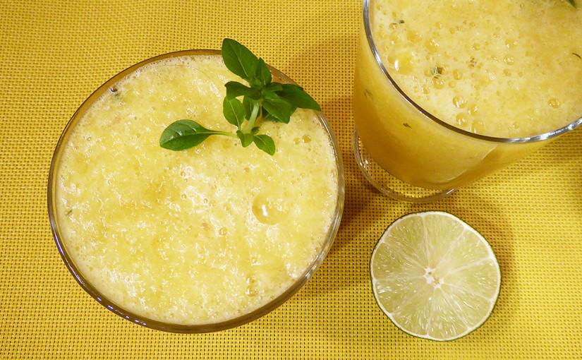 Ledová limonáda ze žlutého melounu | Vivat aestas čili Ať žije léto! Cheers!