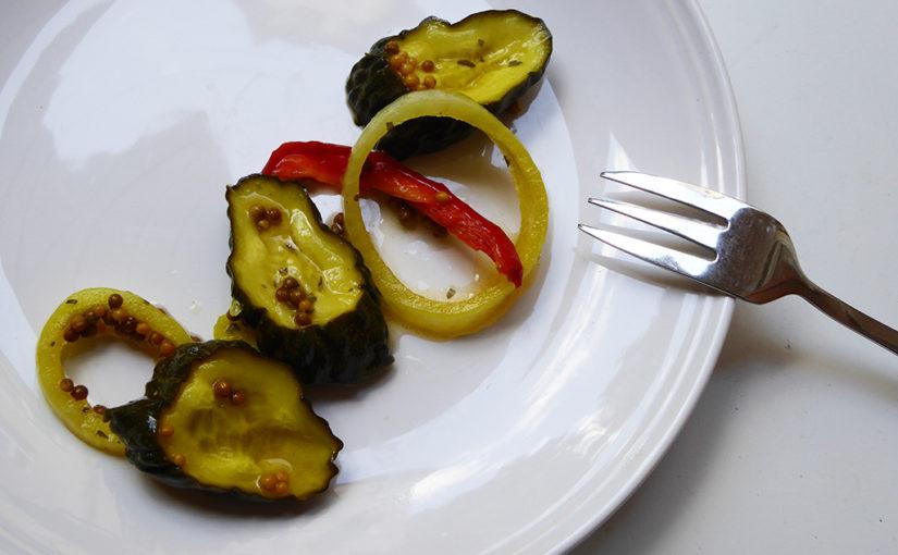 Nakládané okurky s kurkumou | Pánská jízda 2