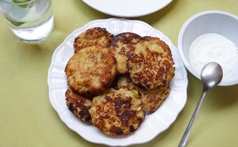 Cabbage pancakes with paprika | innovation classics