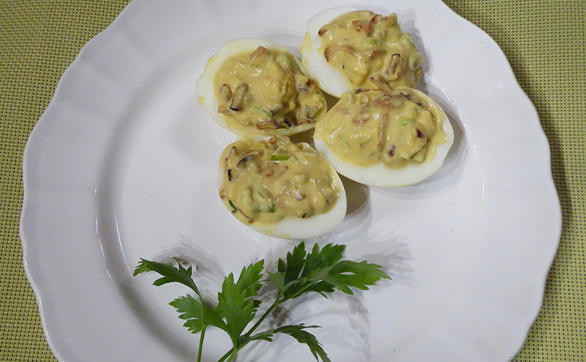 stuffed eggs | Improvisation