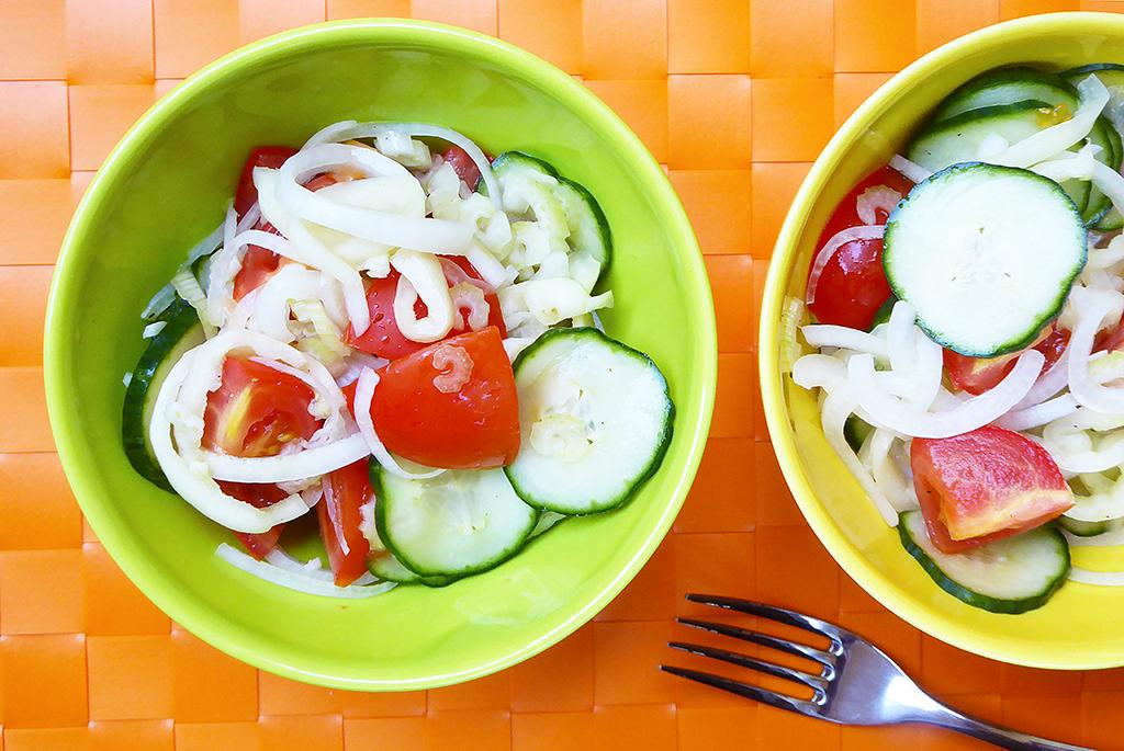 Salát s paprikou