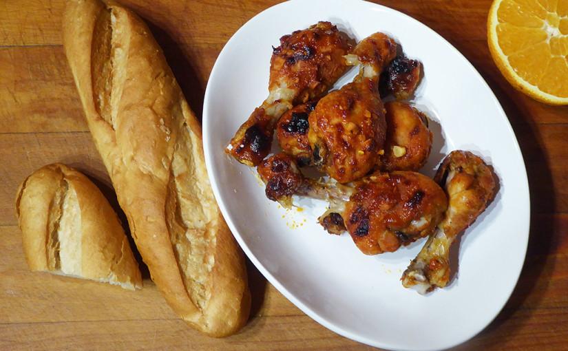 Voňavé kuřecí paličky | Čili schilli, ale smírou | Pomeranč místo oleje
