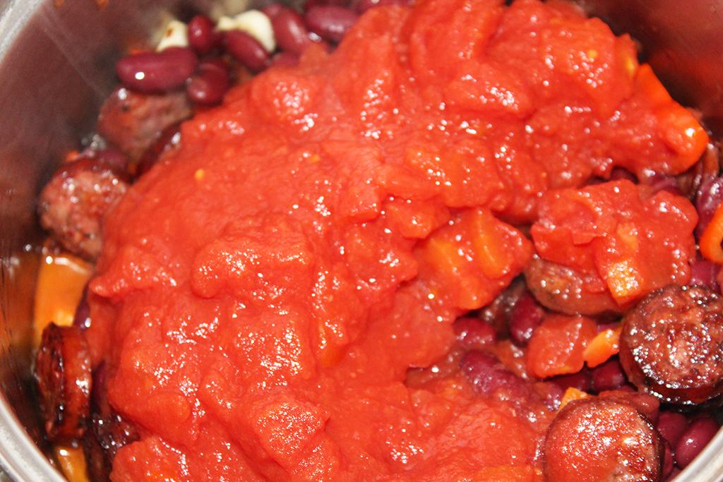 Vložíme rajčata