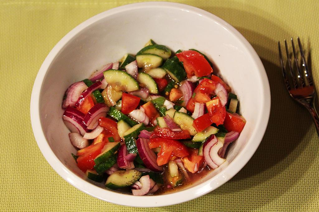 Dochutíme salát