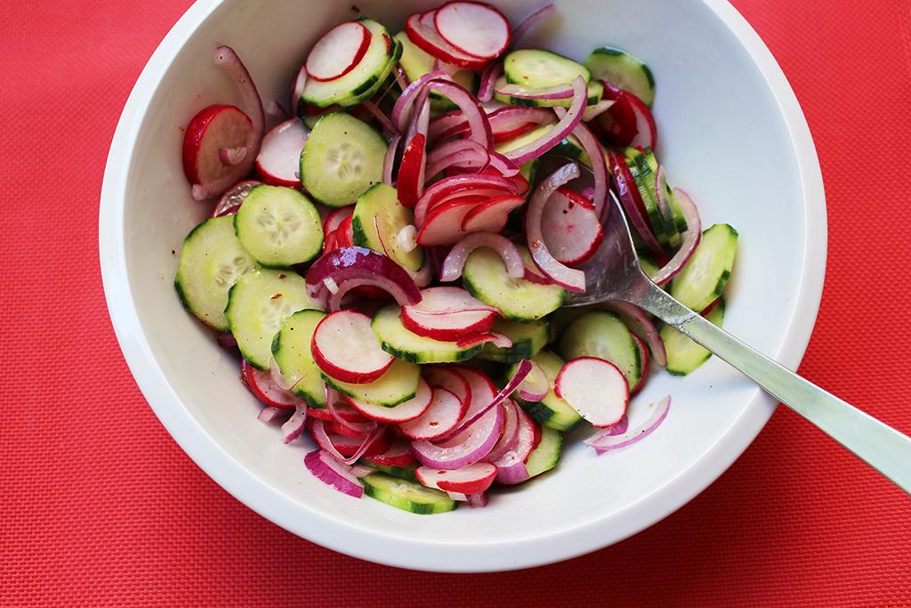 Podáváme salát