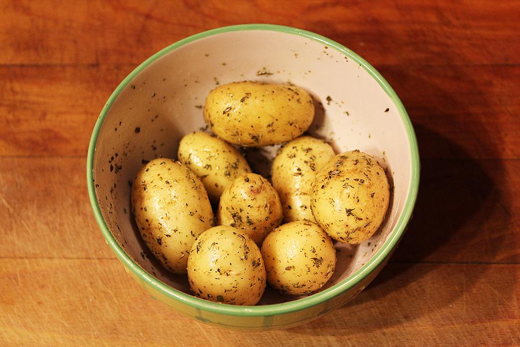 Koření s bramborami