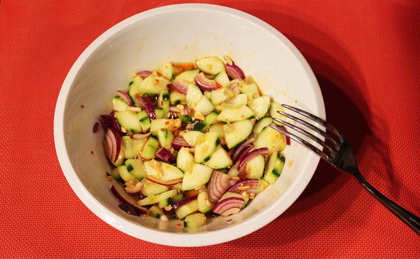 Thai cucumber salad | Pro chvíle kratochvíle | Pro odvážné