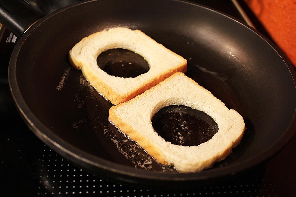 Toasty s otvorem