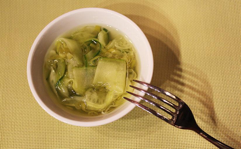 Rychle naložená okurka | Příloha ijako salát