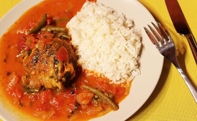Dušené kuře poitalsku | Malajsko-kalifornská inspirace počesku | Ajsou tam ifazolky