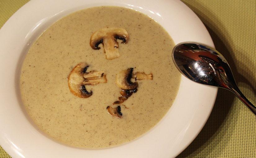 Pórková polévka se žampiony | Zkuste experimentovat