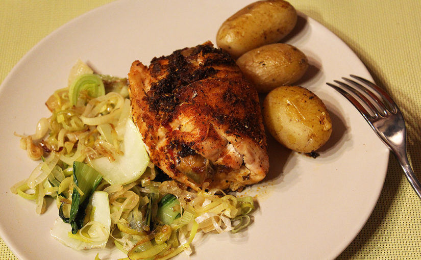 Chicken breasts stuffed with piquant spices,cs | A whiff of Louisiana in the Czech Republic