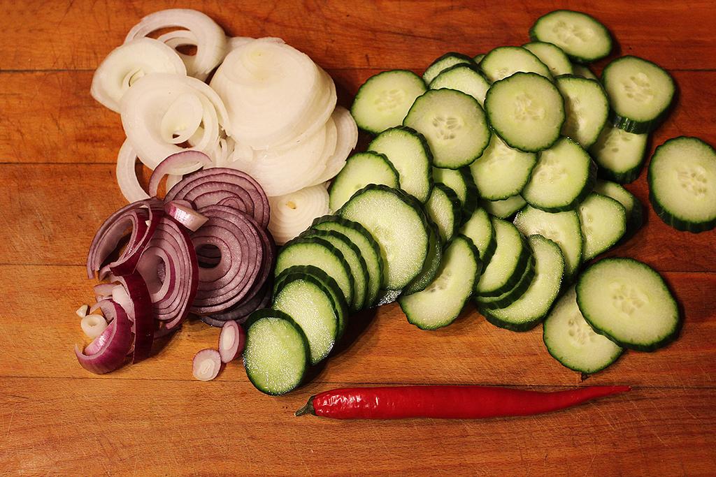 Nakrájíme zeleninu