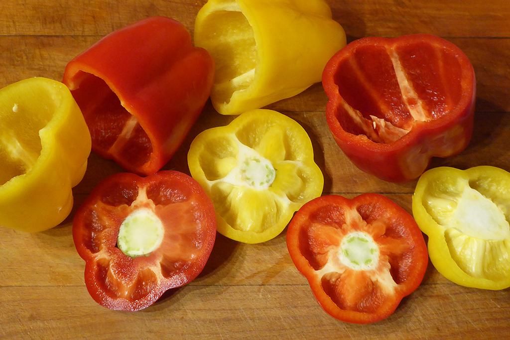 Očistíme papriky
