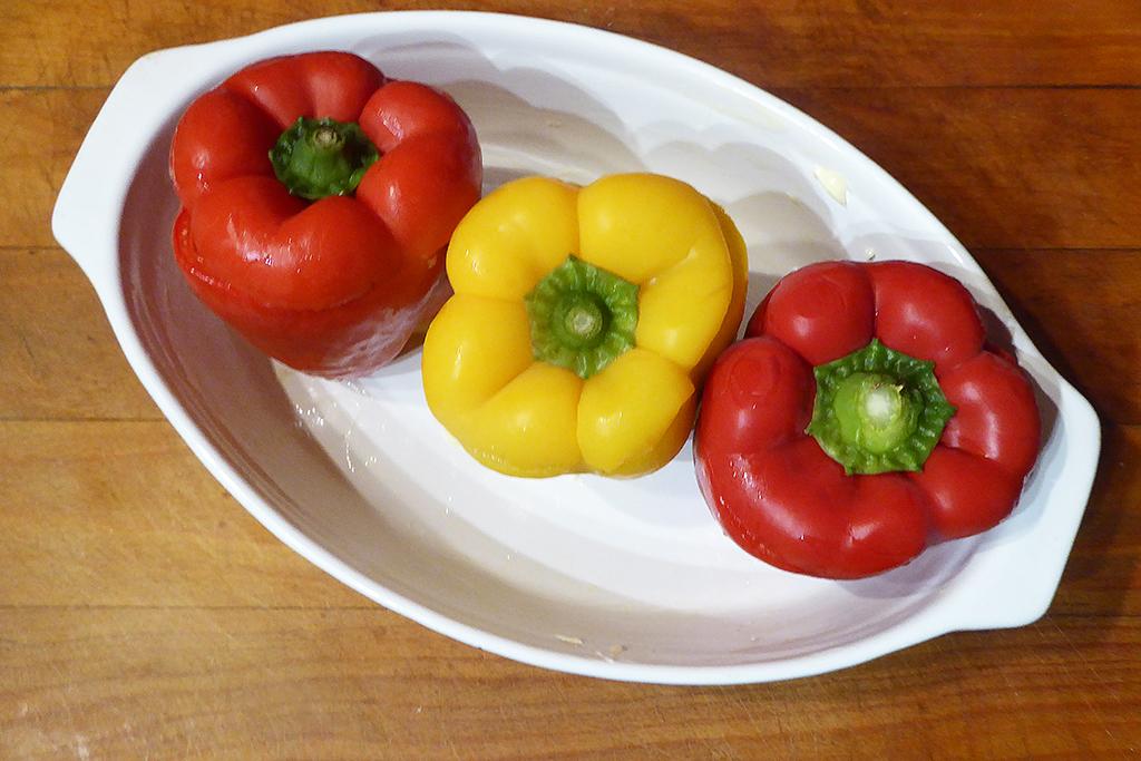 Naplněné papriky