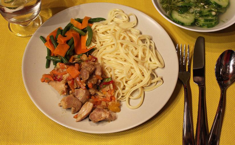 Ústřicové kuře   Tchajwanská inpirace