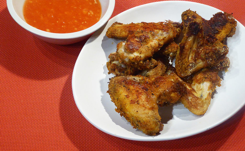 Pečená kuřecí křídla | Zapomeňte na olej!