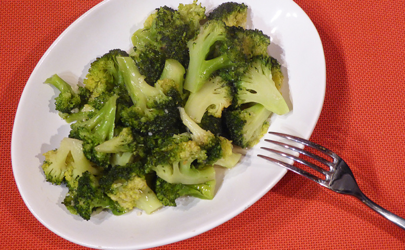 Restovaná brokolice sčesnekem | Chuťovka