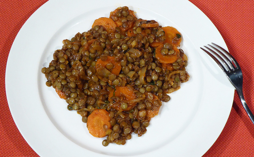 Turkish lentils with carrots | Cook according to The New York Times