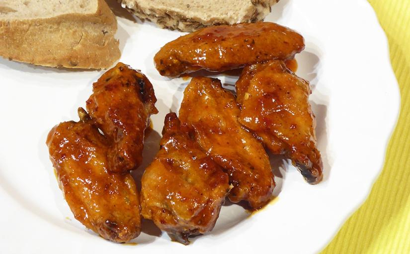 Nejlepší křupavá kuřecí křidélka | Další porce křidélek bez oleje