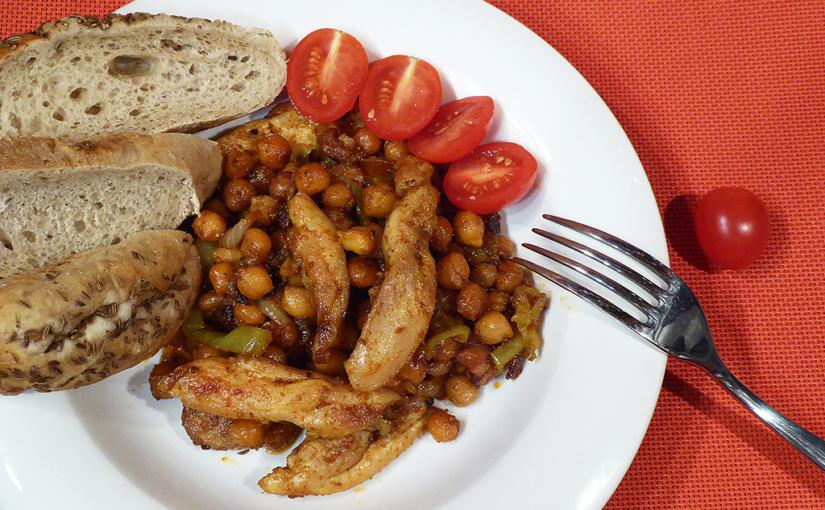 Pikantní kuře scizrnou na pánvi | Rychlá večeře