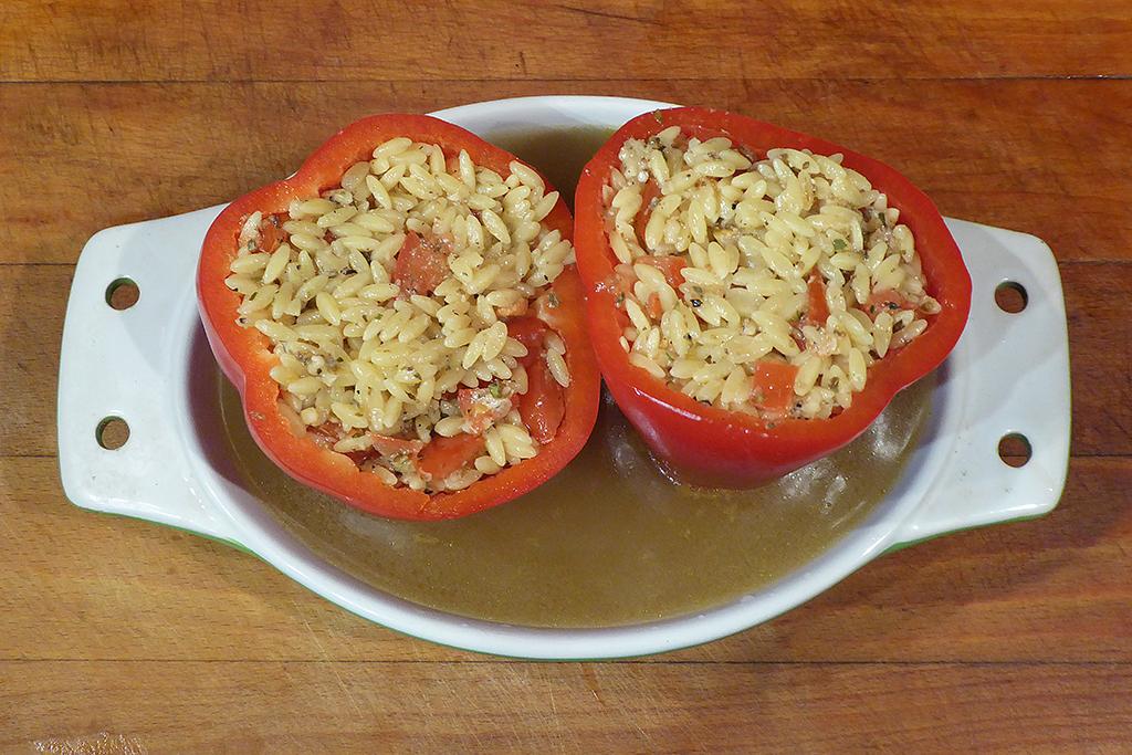 Naplníme papriky