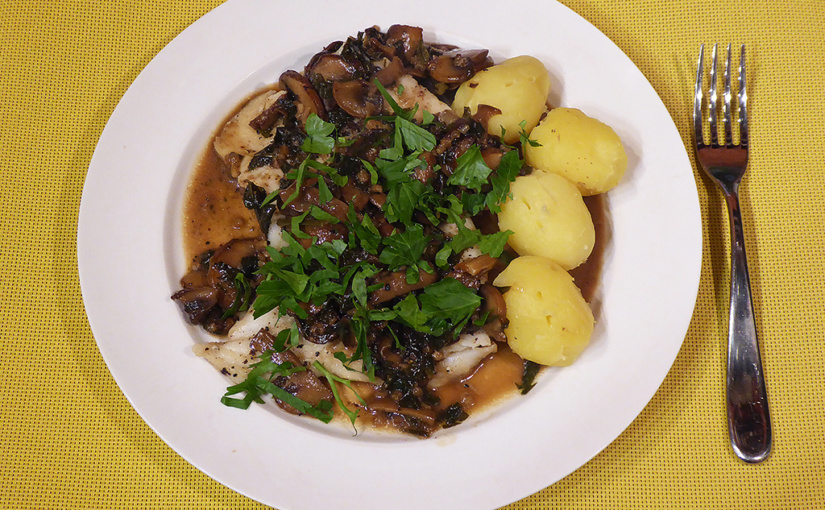 Cod with beer and mushrooms | Experiment se vyplatí