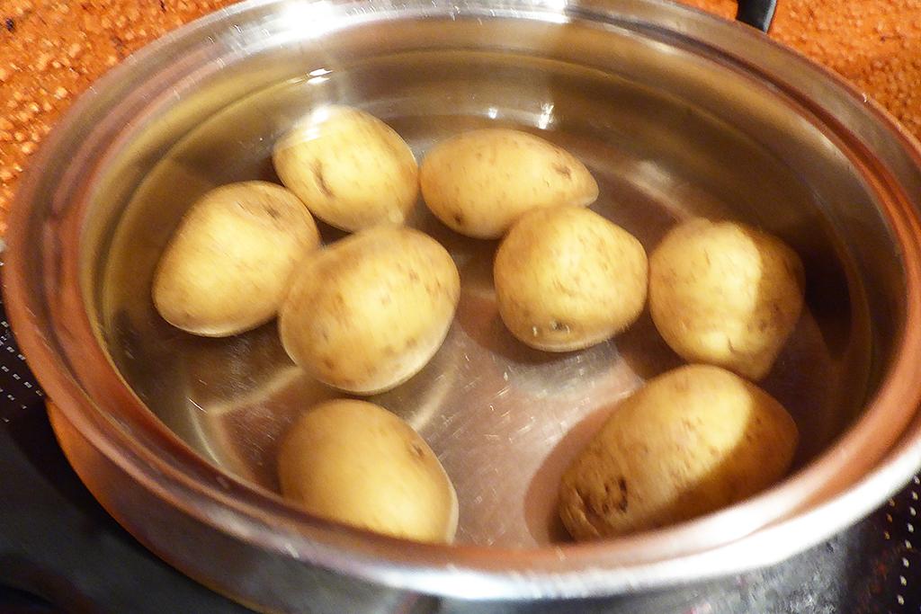Dáme si vařit brambory
