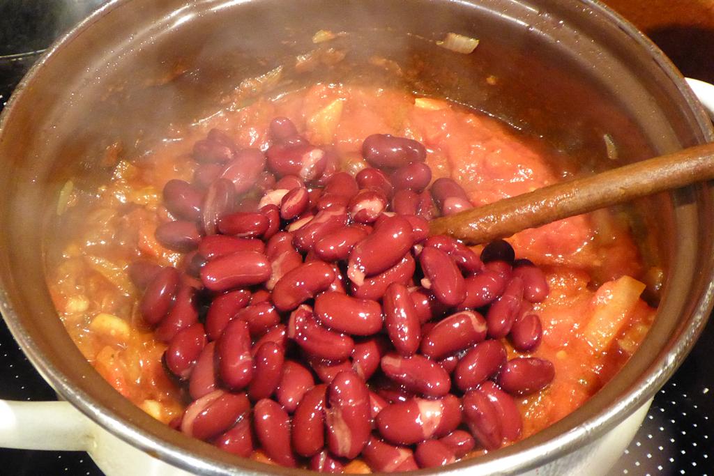 Přidáme fazole