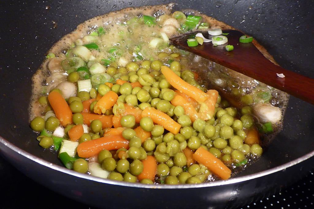 Osmahneme zeleninu na másle
