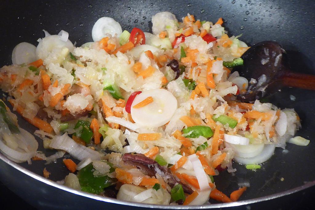 Přidáme čínskou zeleninovou směs